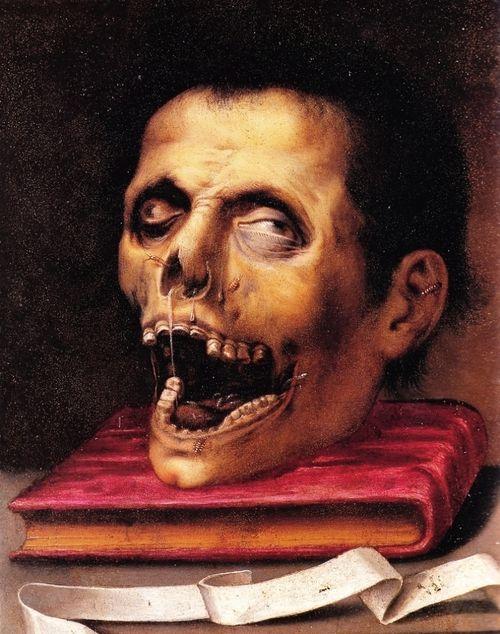 Jacopo Ligozzi (1547 - 1627) - Macabre still life, 1600-05