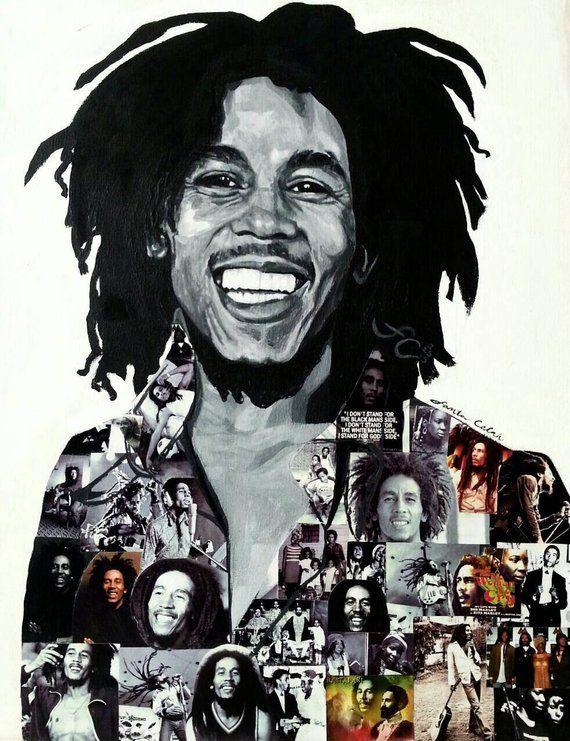 Pin En Bob Marley Fumando