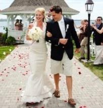 Mens' beach wedding attire article
