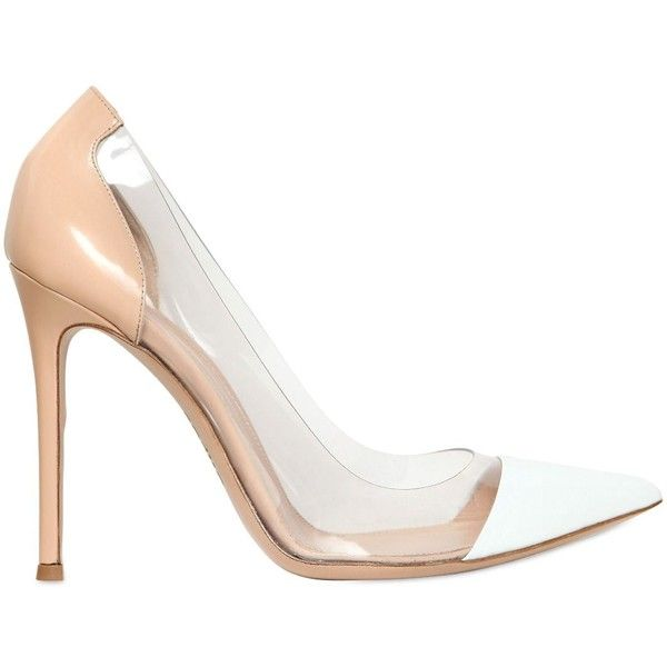 GIANVITO ROSSI 100mm Brushed Leather Pumps