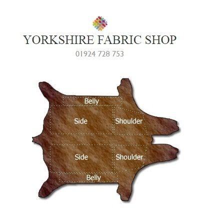 Are you searching Real Leather Fabric online? Then Yorkshire fabric shop is the way where you can buy beautiful flexible material of real leather at affordable price.