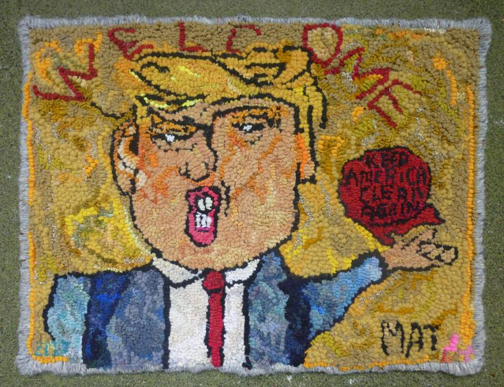 The Donald.. Welcome Mat