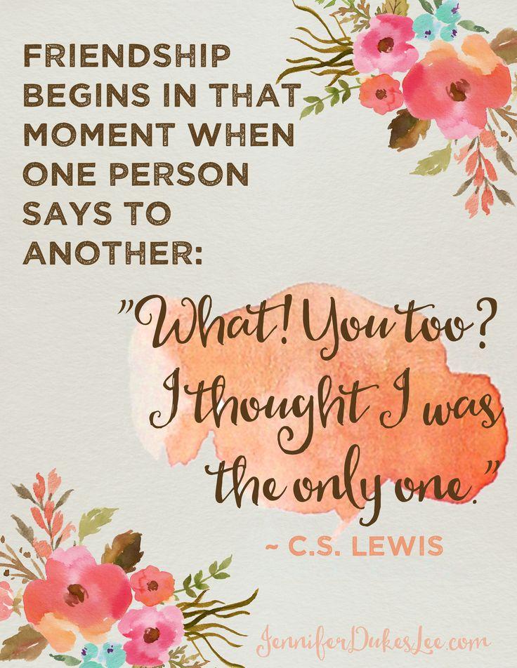 Friendship, C.S. Lewis