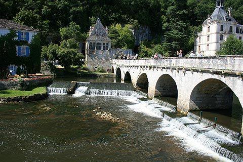 Brantome, in the perigord region of southwest France is often referred to a the Venice of France. A lot of history in this beautiful little place.
