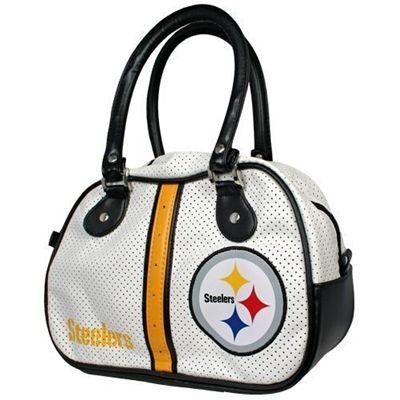 Fanzz Mobile Sports Apparel,Pittsburgh Steelers Bowler Style Purse NFL, NBA, MLB Apparel, NFL, MLB, NBA Jerseys and Merchandise, NHL Shop | Fanzz