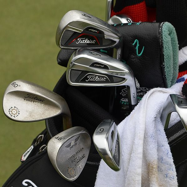 Zach Johnson's Winning Bag of Titleist Golf Bags at the John Deere Classic