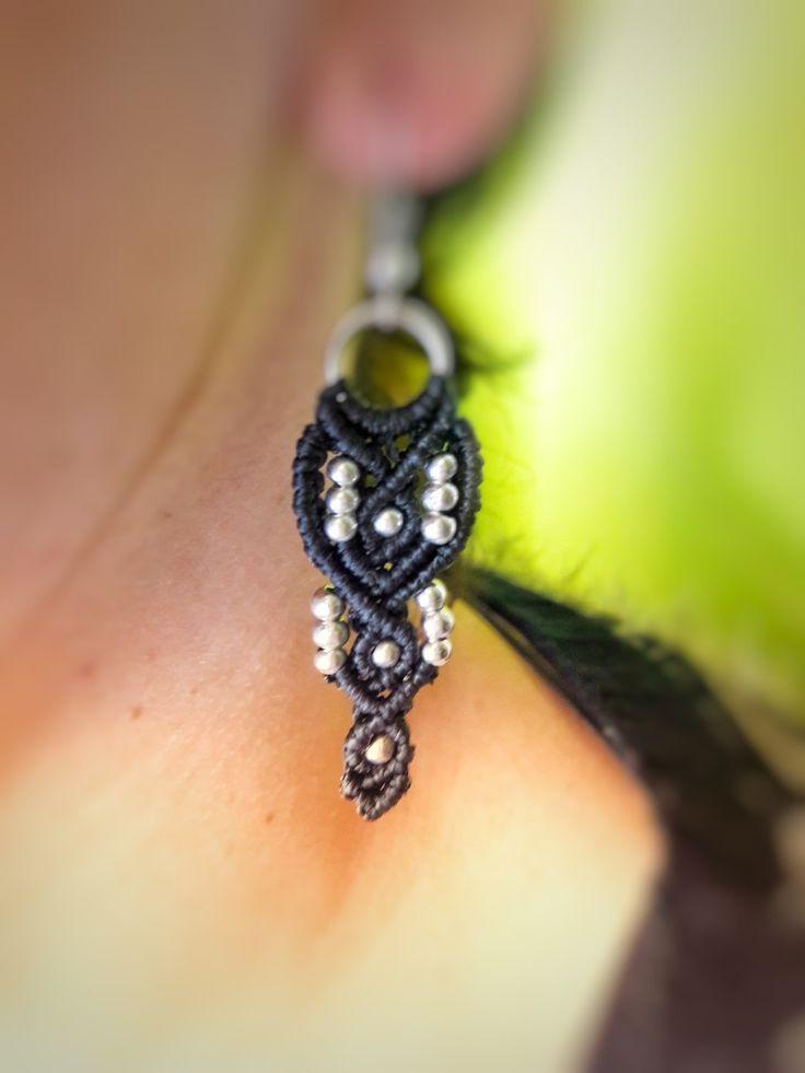 #boho earrings black