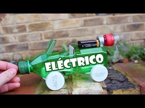Cómo hacer un coche eléctrico casero de juguete / EcoInventos.com