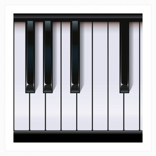 Piano art | decor | wall art | inspiration | contemporary | home decor | idea | humor | gifts