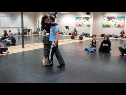 Tango Week May 2011 with Javier Rochwarger - Workshops at Grandview High School Denver #cmdance