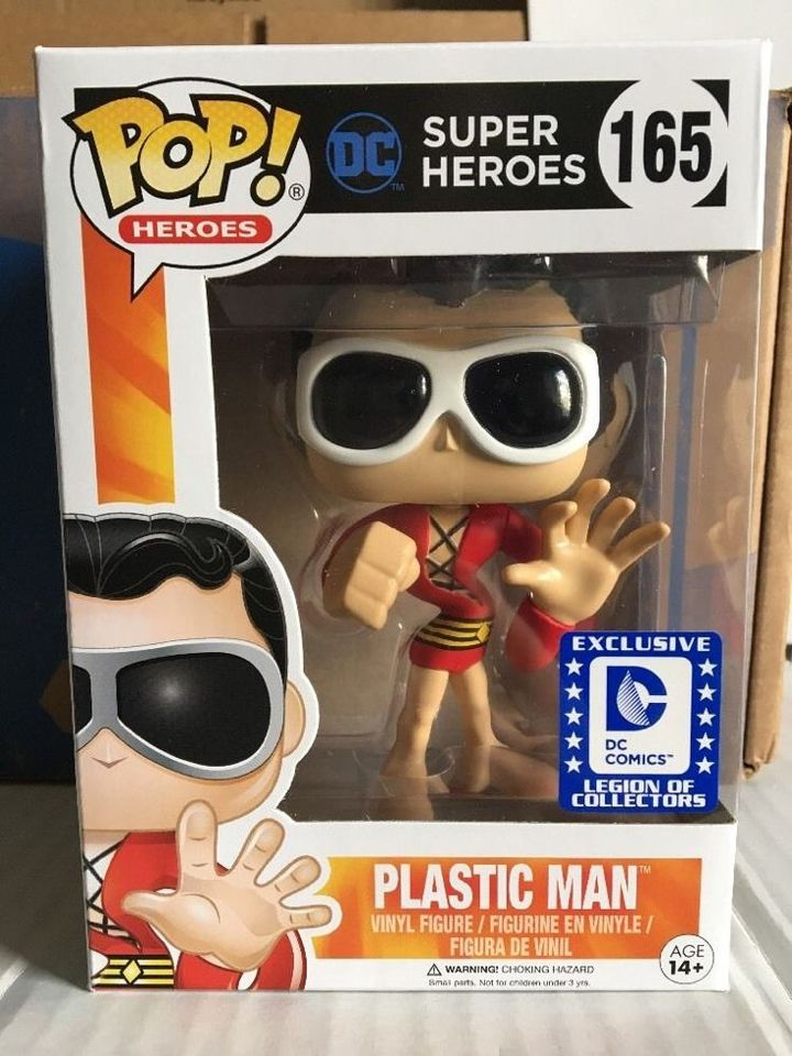 Funko pop. Plastic Man. Exclusive