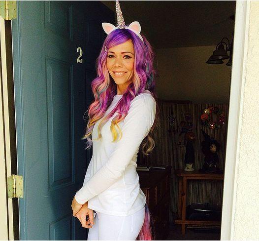 Las 25 mejores ideas sobre disfraz unicornio en pinterest - Disfraz halloween casero ...