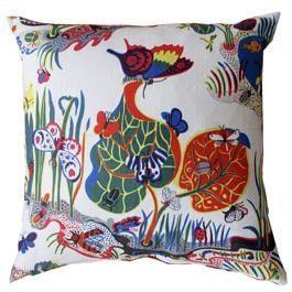 Butterfly Pillow - Just Scandinavian - $315 - domino.com
