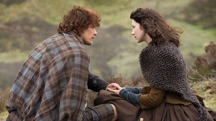 """Below are the official photos Starz has released for the eighth and last episode of Outlander in 2014, """"Both Sides Now."""" Those that can be seen in these photos are Caitriona Balfe (Claire Fraser), ..."""