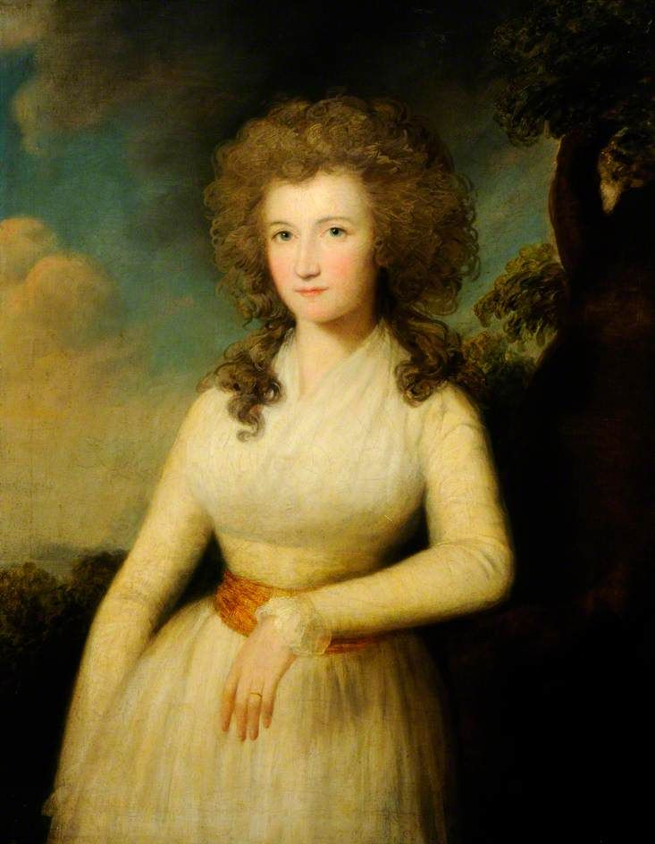 Portrait of a Lady by John James Masquerier