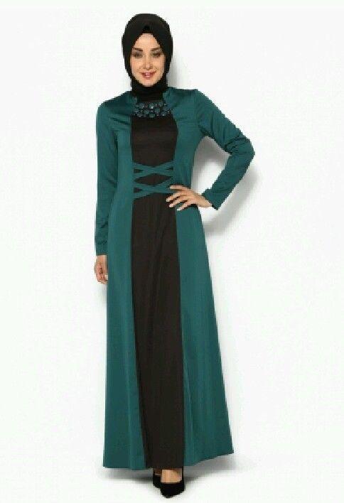 Turkish Abaya Dress Islamic, Women, Size 48 #Turkish #Kaftan