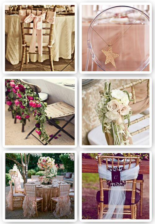81 best sillas adornadas images on pinterest decorated for Sillas para bodas