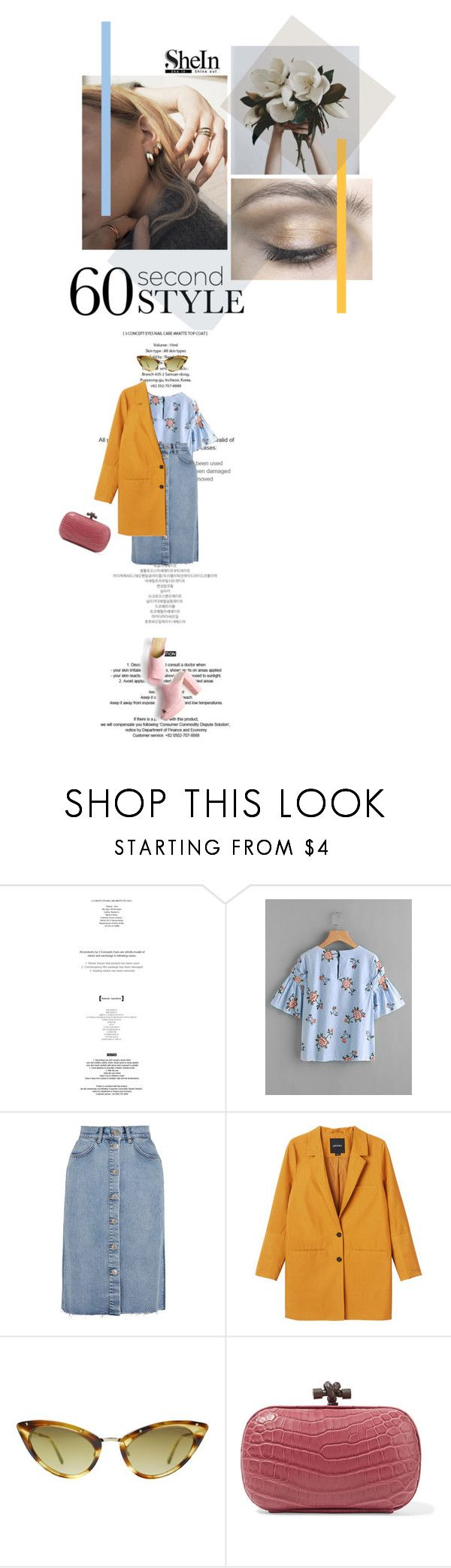 """""""Sans titre #188"""" by shayna-8 ❤ liked on Polyvore featuring GET LOST, StyleNanda, M.i.h Jeans, Monki, Tom Ford and Bottega Veneta"""