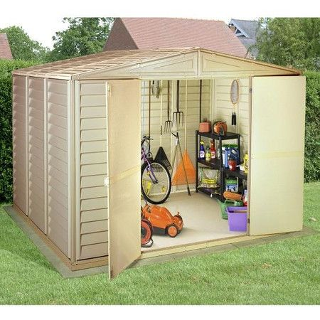 17 best images about backyard storage solutions on for Garden storage solutions