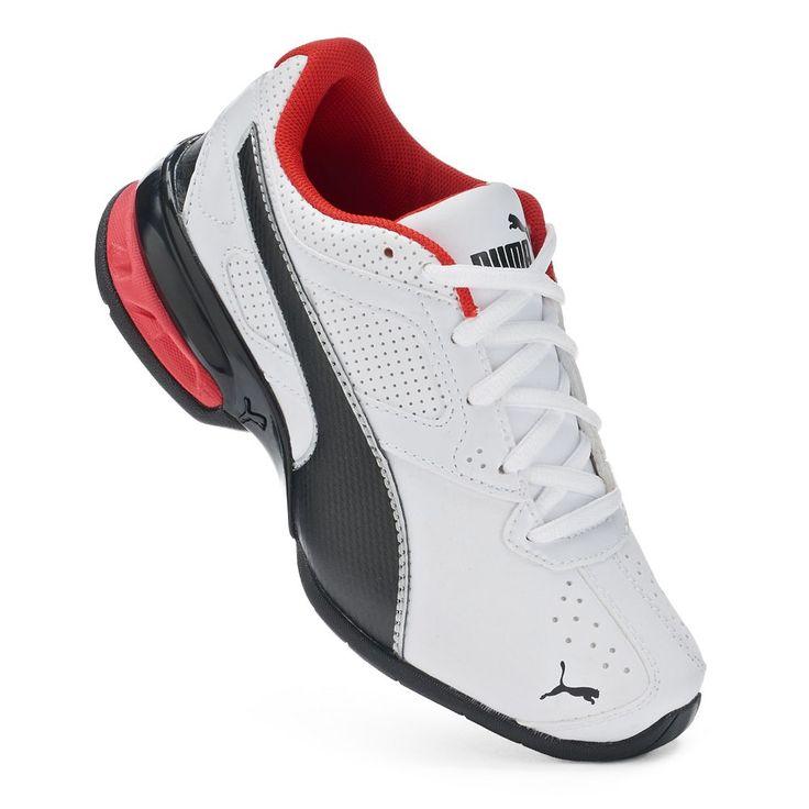 PUMA Tazon 6 SL Preschool Boys' Running Shoes, Size: 12, White
