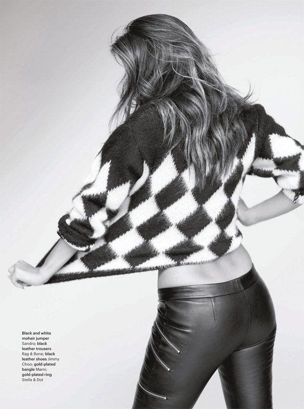 Николь Шерзингер в Glamour (Интернет-журнал ETODAY)