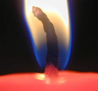 DIY candle wick...this will come in handy when I re-melt candle stubs...