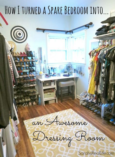Extraordinary elfa closet system design roselawnlutheran - How to turn a closet into a walk in dressing ...