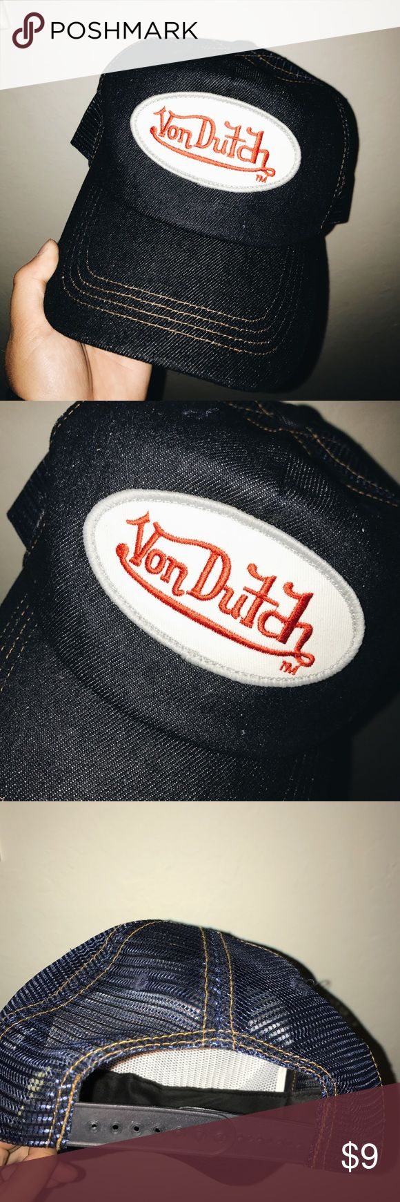 VON DUTCH Trucker Hat!! Cute & Stylish Von Dutch hat from UO!!! Please make questions // make offers (: Urban Outfitters Accessories Hats