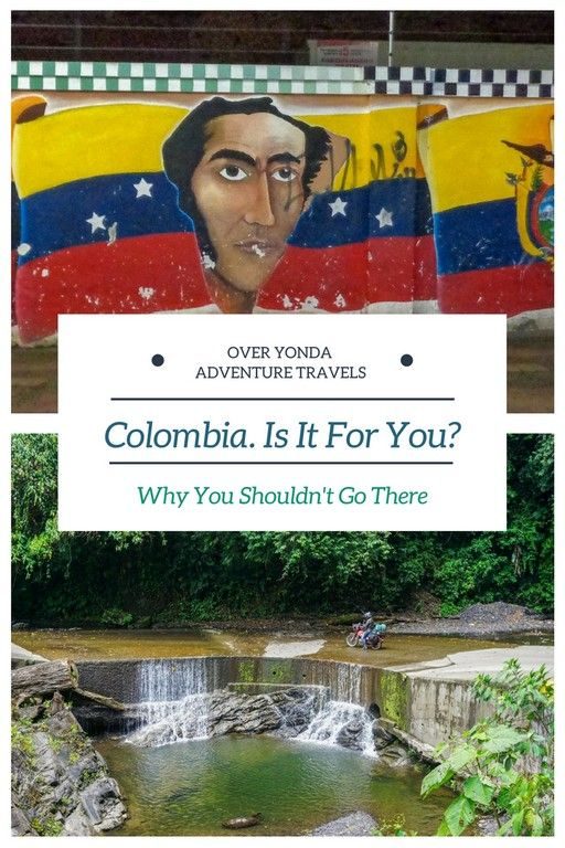 Colombia. The first thing that springs to mind is Pablo Escobar and cocaine right? Well the truth is that Colombia is so much more than that. Here's our backwards list as to why you may not want to go there, but ultimately you should.