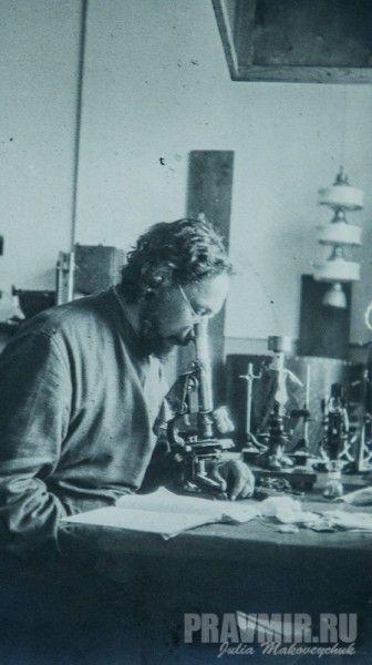 P. Florenskij in laboratorio, Mosca, dicembre 1929