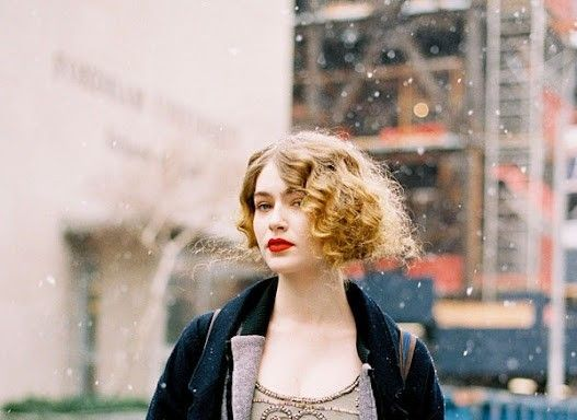 Pin Curls For short Hair -how to-