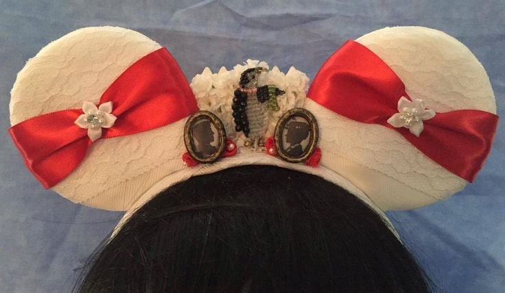 Mary Poppins Jolly Holiday inspired mouse ears with Light up