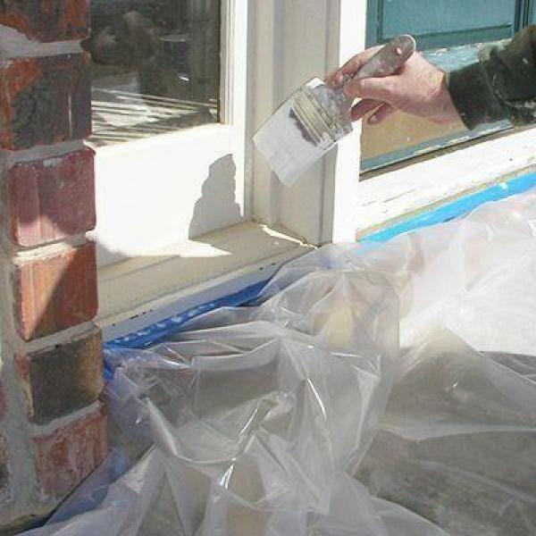 Hdx 12 Ft X 400 Ft 0 31 Mil High Density Painters Plastic Sheeting Hshd12 400 The Home Depot Plastic Flooring Drop Cloth Plastic Sheets