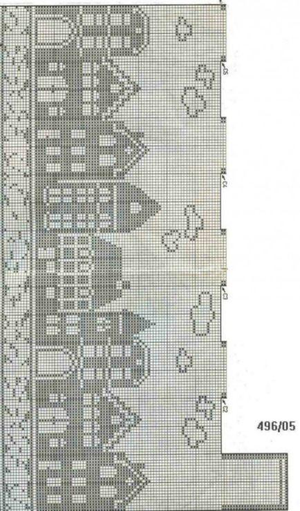 house x stitch