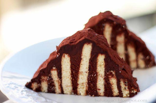 bulutağacı: Piramit Pasta (Mozaik Pasta)