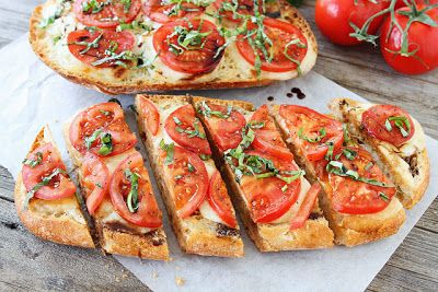 How To Make Caprese Garlic Bread | #Food #recipes