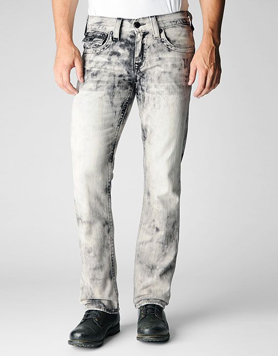 Buy Acid Wash Denim Jogger Pants Men's Jeans & Pants from Basic ...