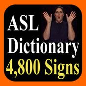 ASL Dictionary...before seeing who repinned this, I automatically thought of @Caitlyn Brotherton. without fail. love you@