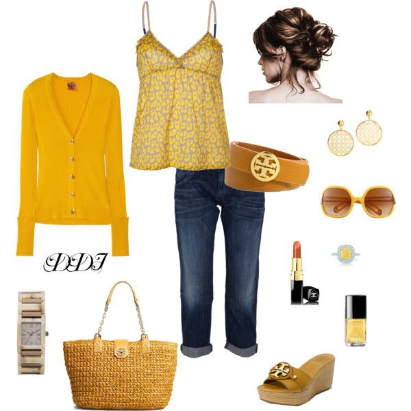 .: Gold Tones, Dawndayiannelli, Mustard Color, Gold Colors Lov, Clothing Jewels, Gold Color Lov, Polyvore Lov, Create, Color Cardigans