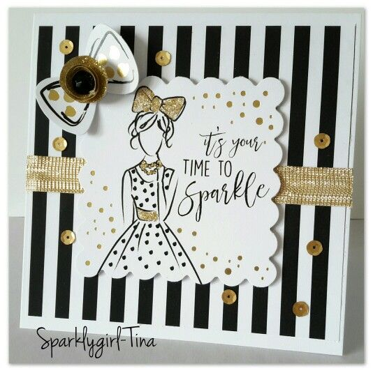 Created by Tina Boyden for Craftwork Cards using the Fabulous Fashionita collection