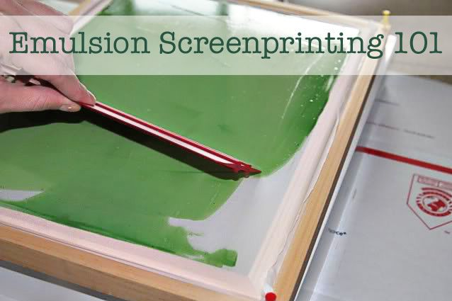 a really easy to understand tutorial on screen printing...pretty cost efficient too!