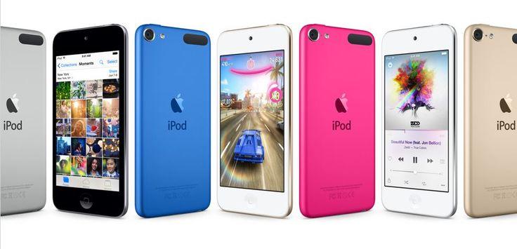 Megjelentek az új iPodok. A touch-nál történt némi komolyabb változás...