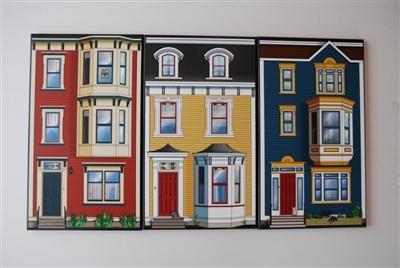 Jellybean row houses