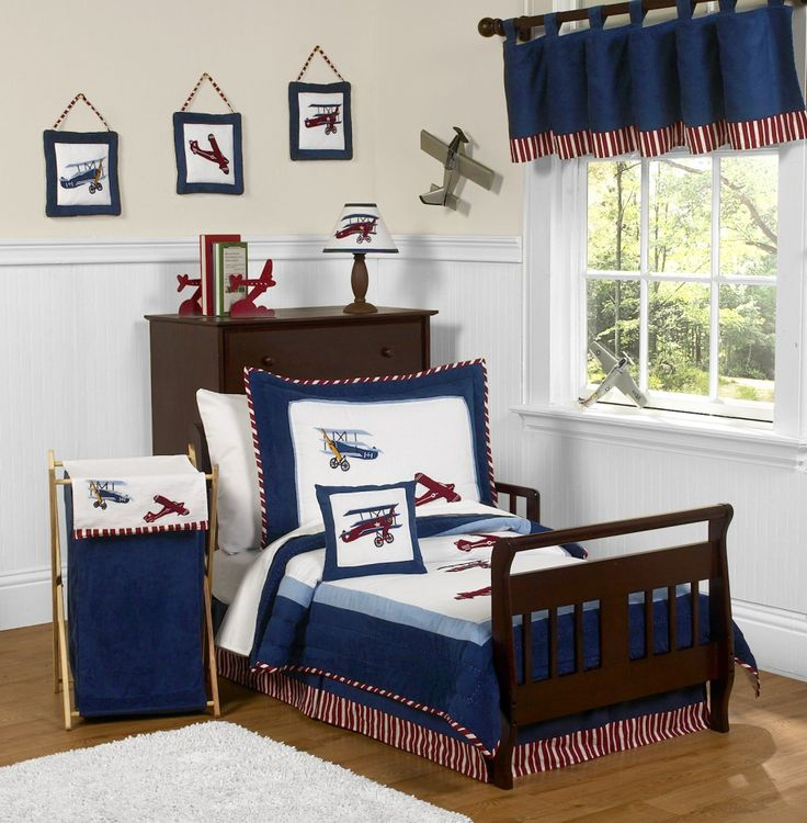 The Vintage Aviator Bedding Collection from Sweet