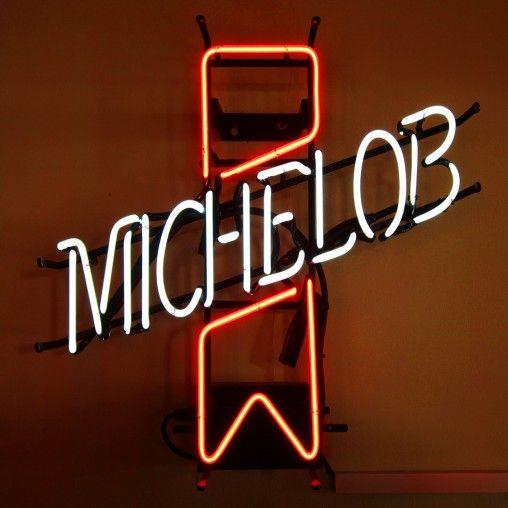 This fabulous vintage neon sign in a classic piece of 1950's Americana. Michelob beer is brewed by the Michelob brewing company in St Louis, Missouri.