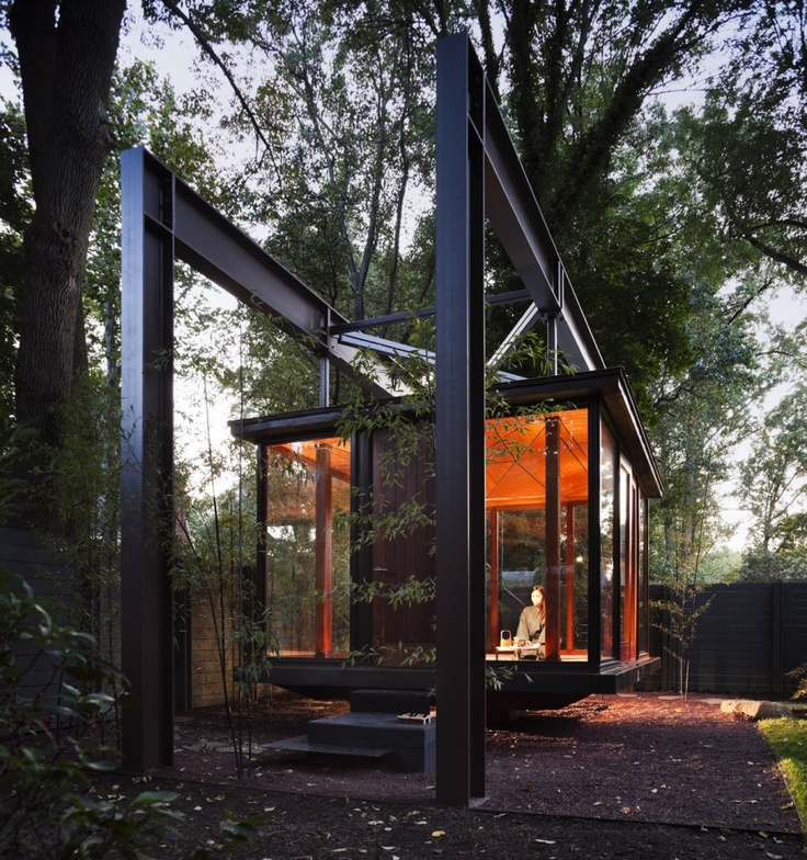 A peaceful tea house for a home in Maryland.