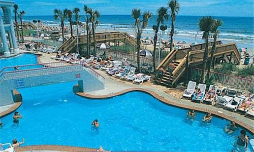 The Crown Reef Resort...which use to be The Reef in Myrtle Beach, SC. Was my Fave place to stay. Every room was ocean front....