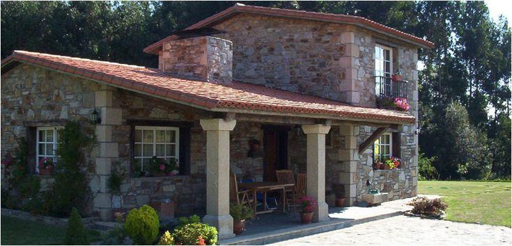 Construcciones r sticas gallegas casas r sticas de piedra inicio h zak pinterest stone - Construcciones de casas ...