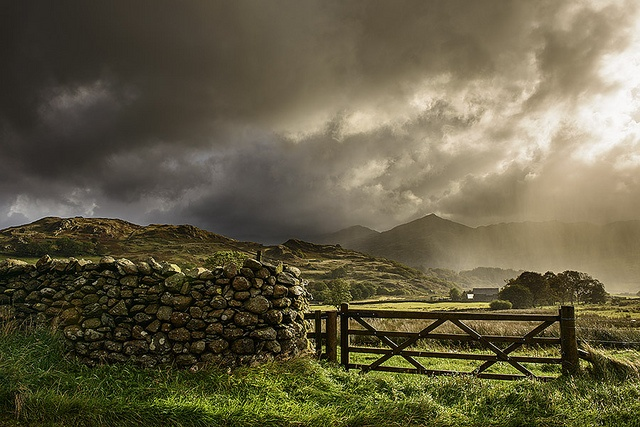 Duddon valley, The Lake District. Wild and breathtaking scenery..