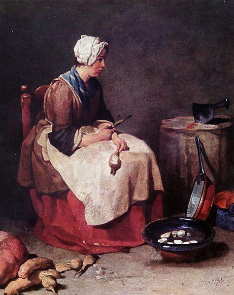 File:Jean-Baptiste Siméon Chardin Woman Cleaning Turnips  017.jpg